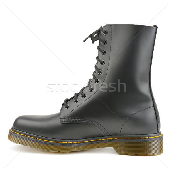 Elegáns cipők izolált fehér divat háttér Stock fotó © serg64
