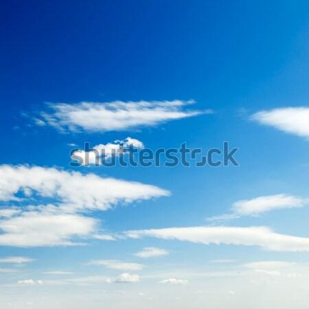 ışık bulutlar gökyüzü bahar güneş arka plan Stok fotoğraf © serg64