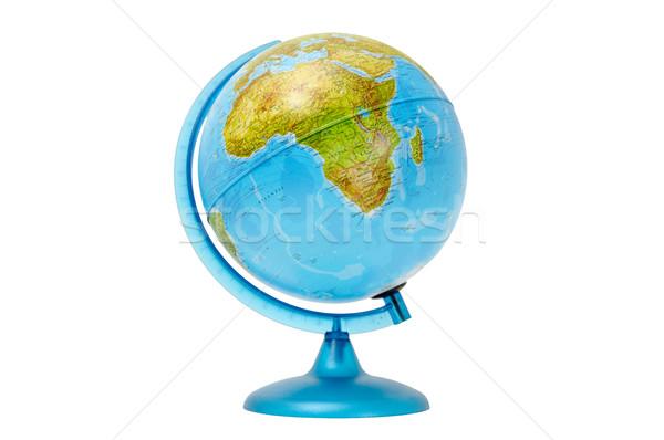 Globale isolato bianco mondo mare istruzione Foto d'archivio © Serg64