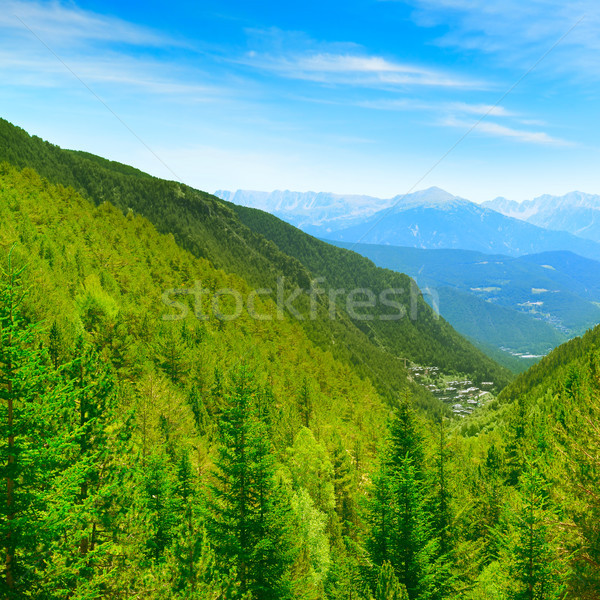 Picturesque mountains Stock photo © serg64