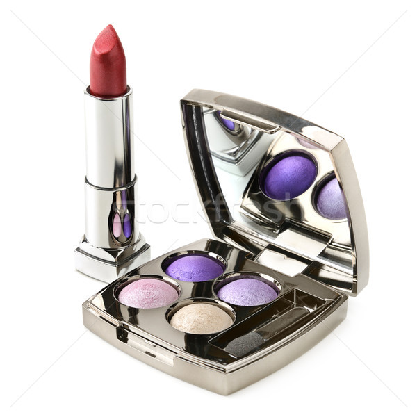 eye shadow and lipstick Stock photo © serg64