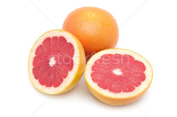 新鮮な グレープフルーツ 孤立した 白 フルーツ ショッピング ストックフォト © Serg64
