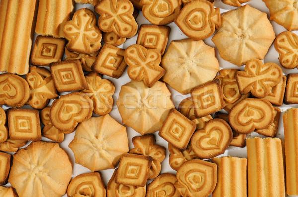 Confeitaria produtos comida chocolate laranja grupo Foto stock © serg64