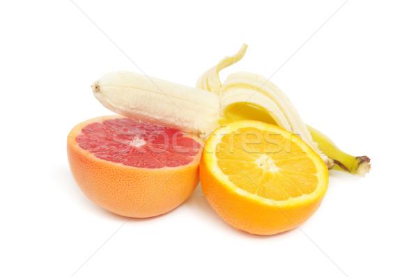 Meyve meyve yalıtılmış beyaz doğa arka plan Stok fotoğraf © Serg64