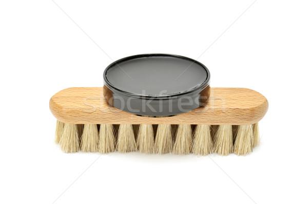 shoe polish and brush  Stock photo © Serg64