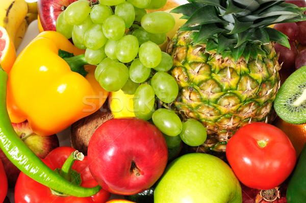 fresh fruits Stock photo © Serg64