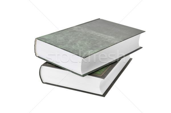 Boeken geïsoleerd witte boek school studie Stockfoto © Serg64