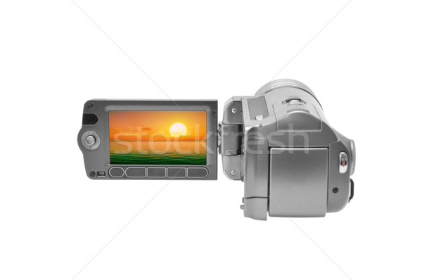 videocamera Stock photo © Serg64
