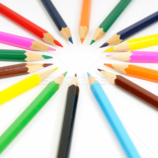 Color pencils  Stock photo © Serg64