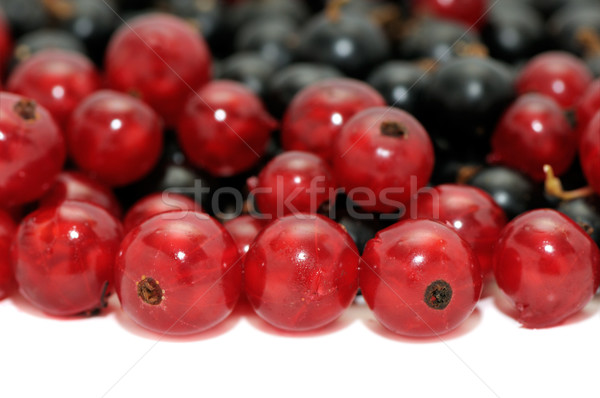 Groseille rouge texture alimentaire nature fond Photo stock © Serg64