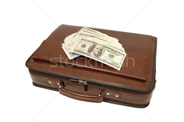 portfolio and dollars Stock photo © Serg64