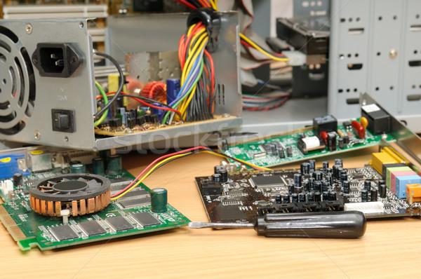 Repair of a computer Stock photo © Serg64