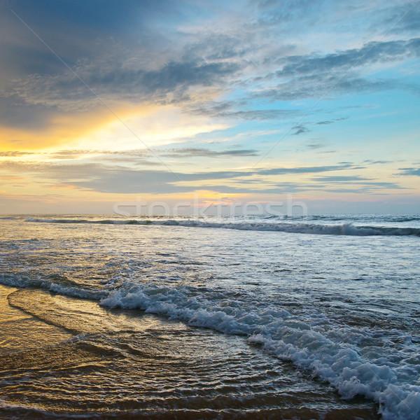 красивой Восход океана небе воды облака Сток-фото © serg64