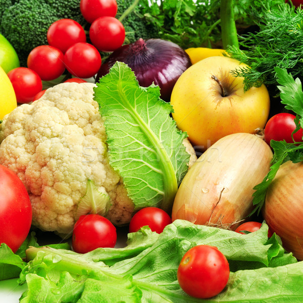 Taze meyve sebze gıda doğa elma Stok fotoğraf © Serg64