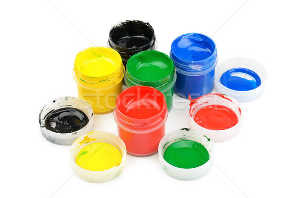 watercolor paint  Stock photo © Serg64
