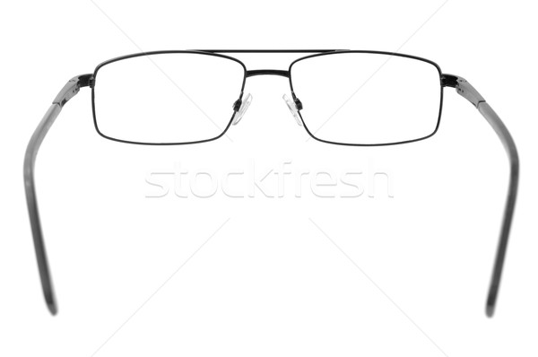 Okulary odizolowany biały moda medycznych szkła Zdjęcia stock © Serg64