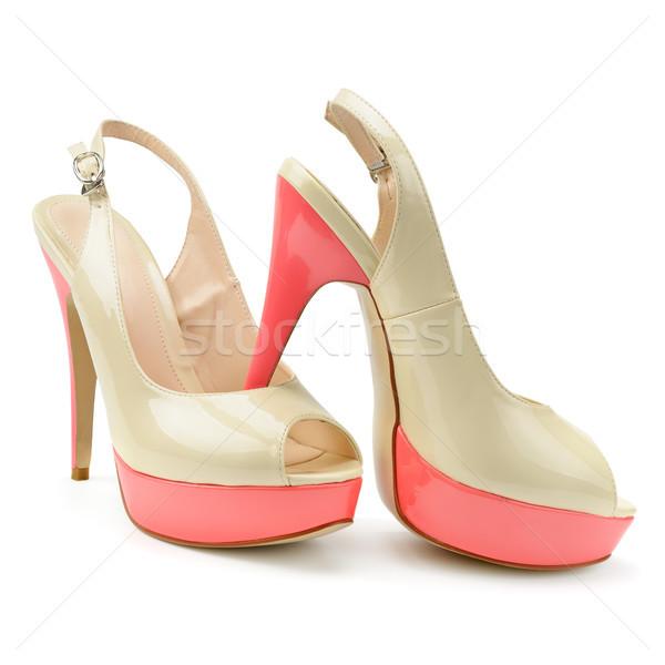 beautiful woman shoes  Stock photo © serg64