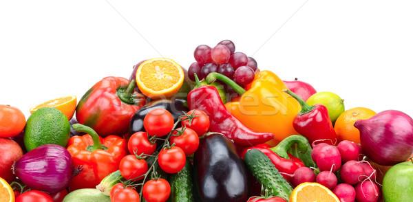 фрукты растительное изолированный белый продовольствие зеленый Сток-фото © serg64