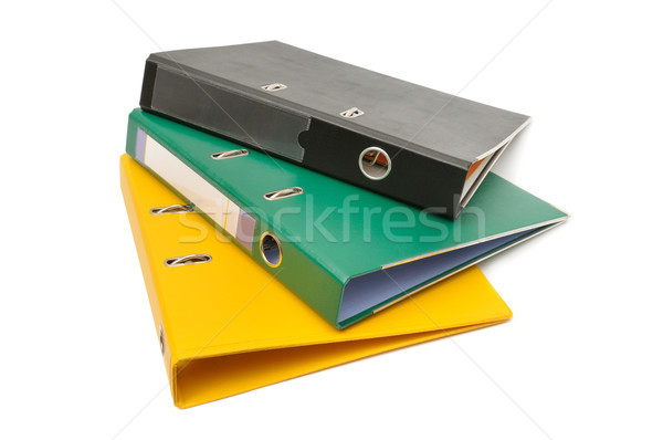 loose-leaf binder Stock photo © serg64