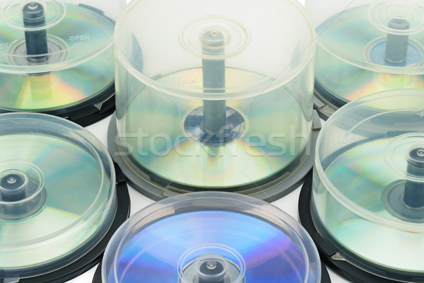 Boxes with DVD disc Stock photo © Serg64