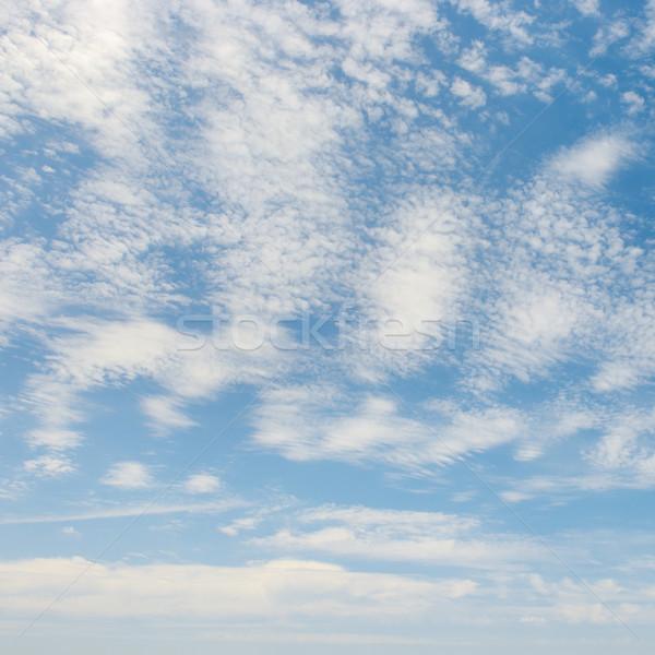 облака Blue Sky весны свет лет синий Сток-фото © serg64