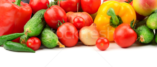 collection fresh fruits and vegetables Stock photo © Serg64
