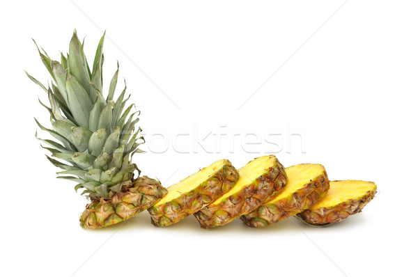 cut ananas Stock photo © Serg64