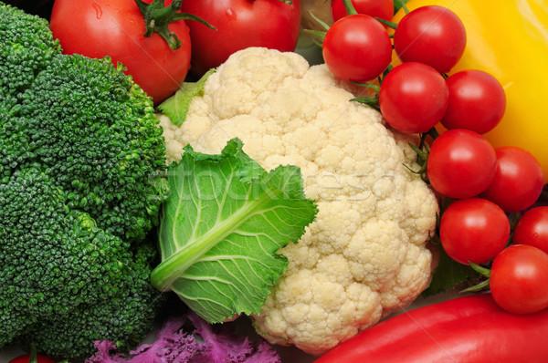 Sebze doğa yeşil grup pazar renk Stok fotoğraf © serg64