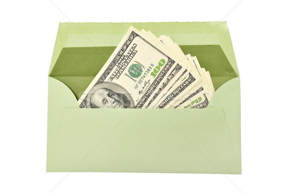 dollars in envelope Stock photo © Serg64