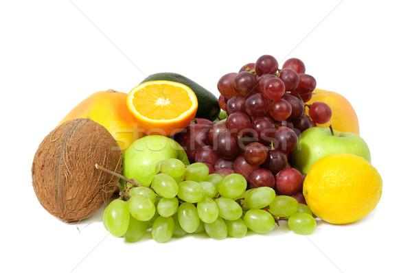 плодов изолированный белый яблоко фрукты фон Сток-фото © Serg64