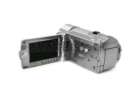 Kamera izolált fehér videó lemez kép Stock fotó © Serg64
