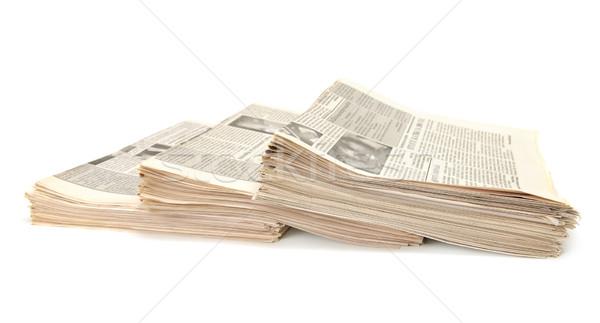 newspapers  Stock photo © Serg64