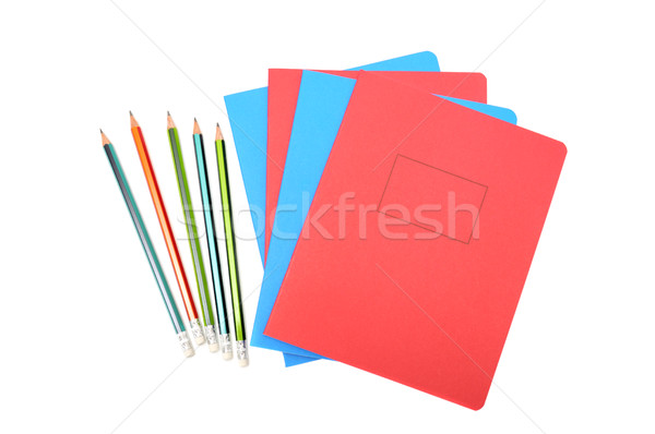 Notebook and pencil Stock photo © Serg64