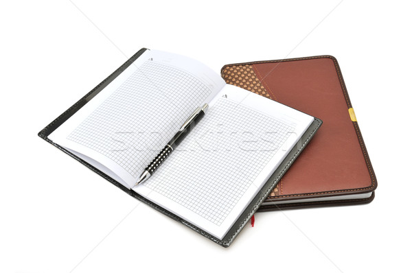 Notebook and pen  Stock photo © Serg64
