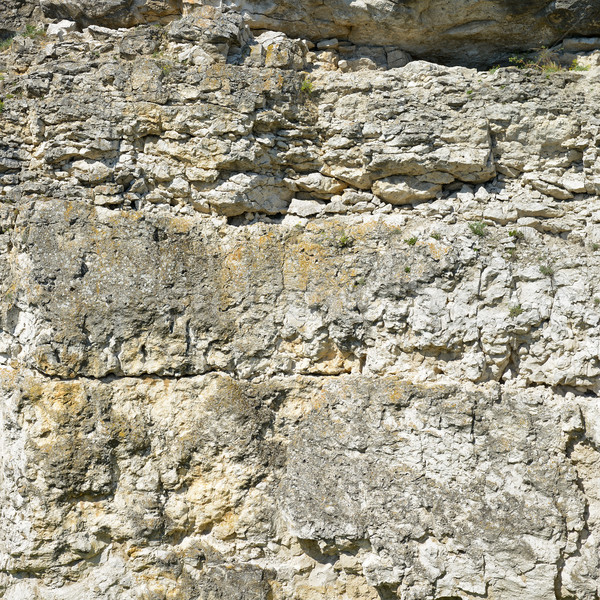 Geological section of sedimentary rocks. Background Stock photo © Serg64