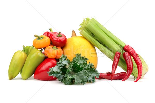 Assortment of fresh vegetables Stock photo © serg64