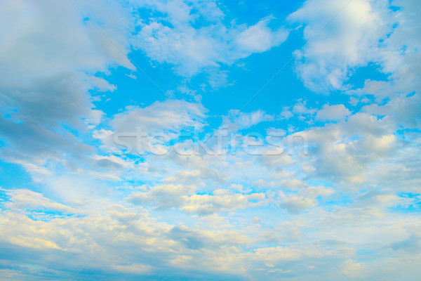 Light clouds in blue sky Stock photo © serg64