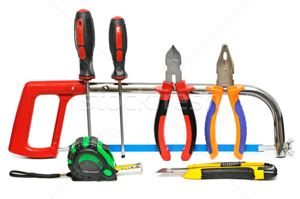 collection of hand tools Stock photo © serg64