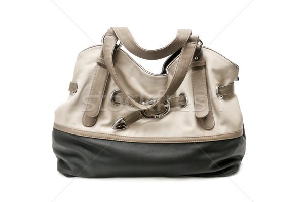 Dames sac à main isolé blanche femmes mode Photo stock © Serg64