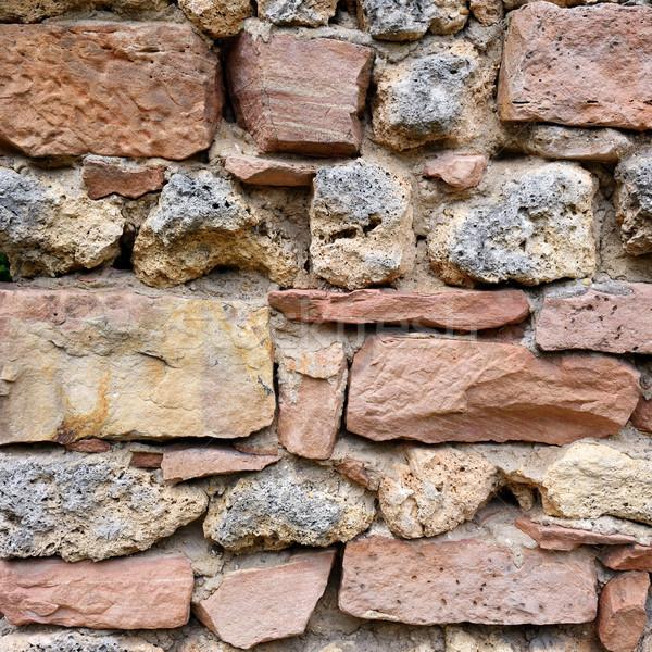 wall made of natural stone Stock photo © serg64
