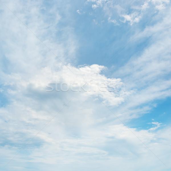 красивой облака Blue Sky природы пейзаж фон Сток-фото © serg64