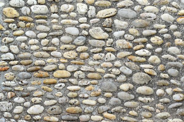 ösvény kövek textúra építkezés fal háttér Stock fotó © Serg64