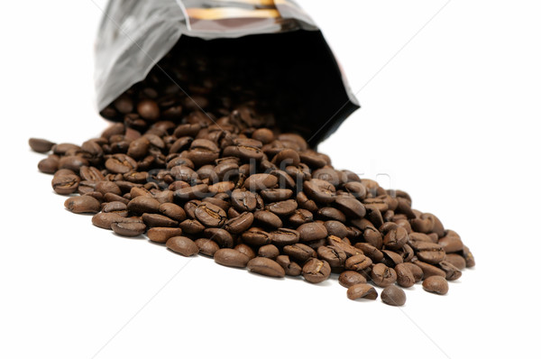 Coffee grains Stock photo © Serg64