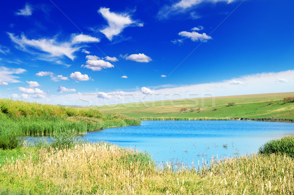 lake Stock photo © Serg64