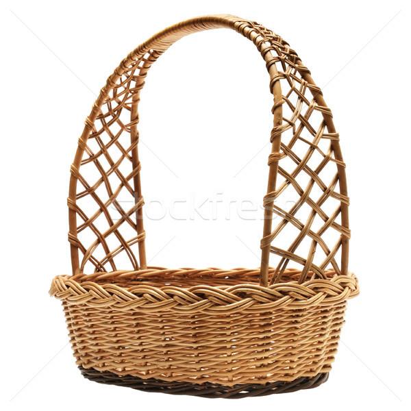 Wicker basket Stock photo © serg64
