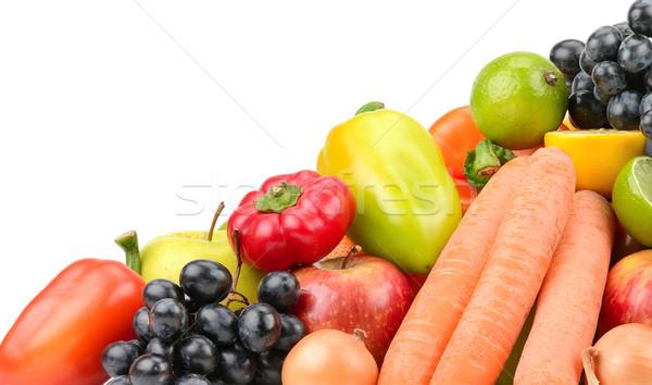 set fruit and vegetables Stock photo © Serg64