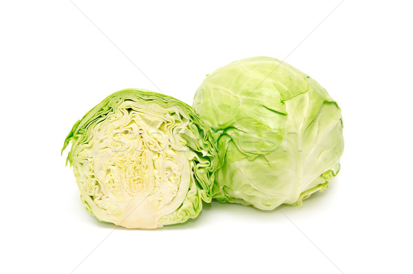 cabbage-head Stock photo © Serg64
