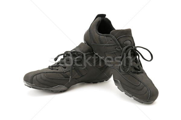 Isolado branco moda fundo sapatos Foto stock © Serg64