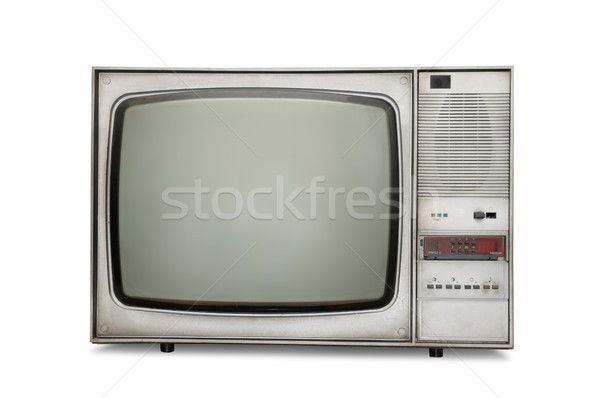 Old-fashioned tube TV Stock photo © serg64