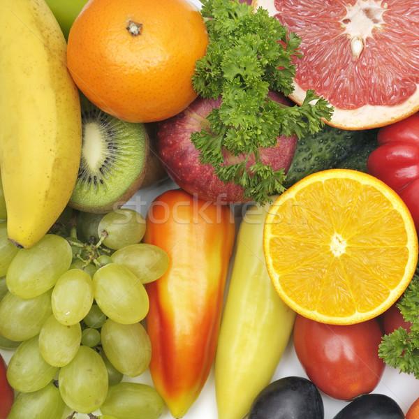 Fresco frutas legumes maçã saúde fundo Foto stock © serg64